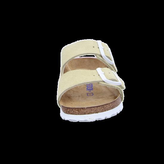 Details zu Birkenstock Arizona SFB VL Vanilla Schuhe Sandalen Pantoletten Beige