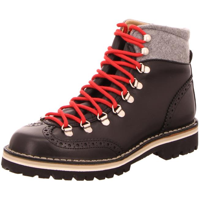 Stiefel in Schwarz von Dirndl + Bua, Schuhgröße:38 12;Farbe
