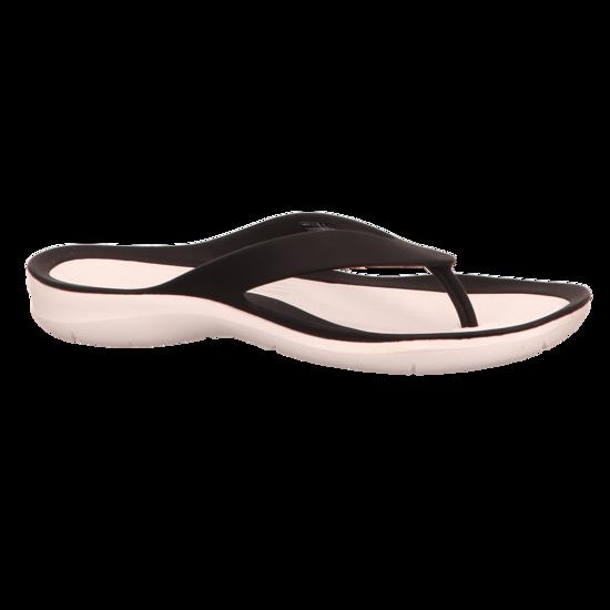 Zehentrenner CROCS - Swiftwater Flip W 204974 Black/White OLt8AegdW