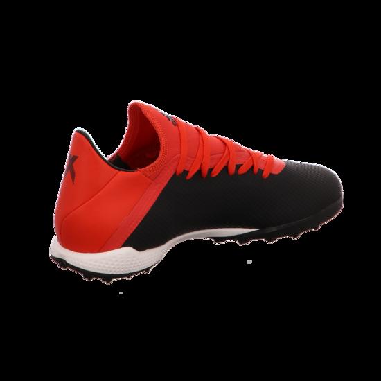 adidas X 18.3 TF Herren Multinocken schwarz weiß rot BB9398