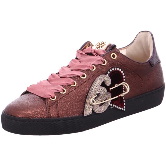 Högl »leder« Sneaker Rot