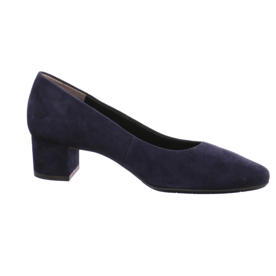 Flache Pumps für Damen von Paul Green blau velour pPLbH