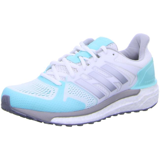 adidas Supernova ST Damen Laufschuhe Running weiß türkis Running