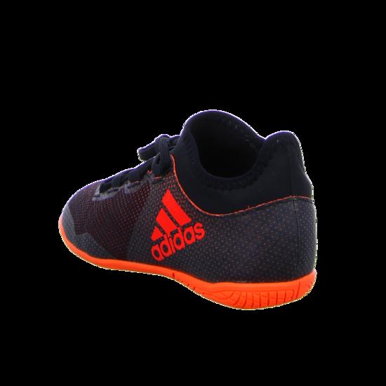 adidas X Tango 17.3 Indoor Kinder Fußball Hallenschuhe schwarz orange Trainings und Hallenschuhe
