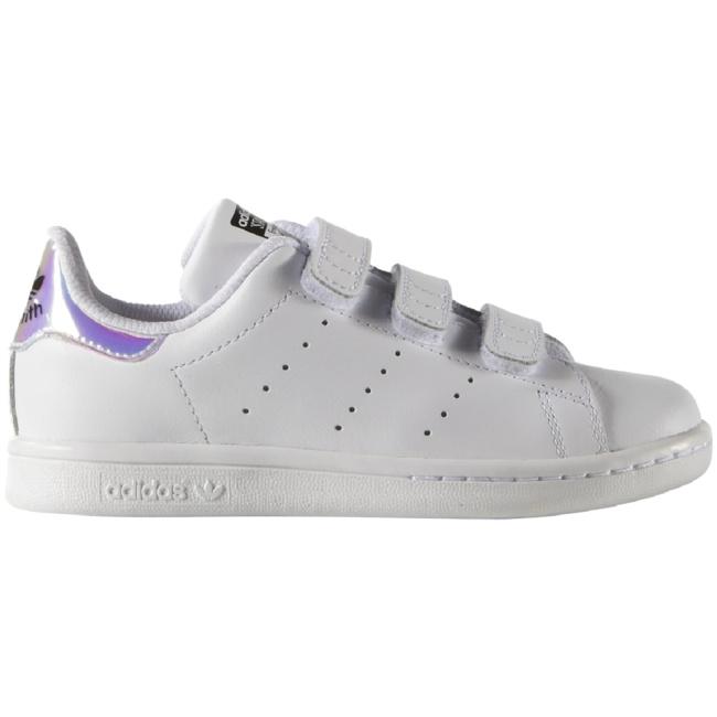 adidas Originals Stan Smith Kinder Sneaker Klettverschluss weiß Sneaker Low
