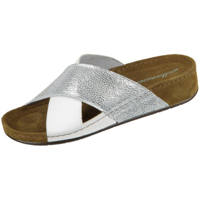 Rieker Damen Pantolette Annett 38 EU Weiß: : Schuhe