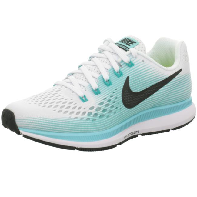 Nike Air Zoom Pegasus 34 Damen Laufschuhe Running weiß grün Running
