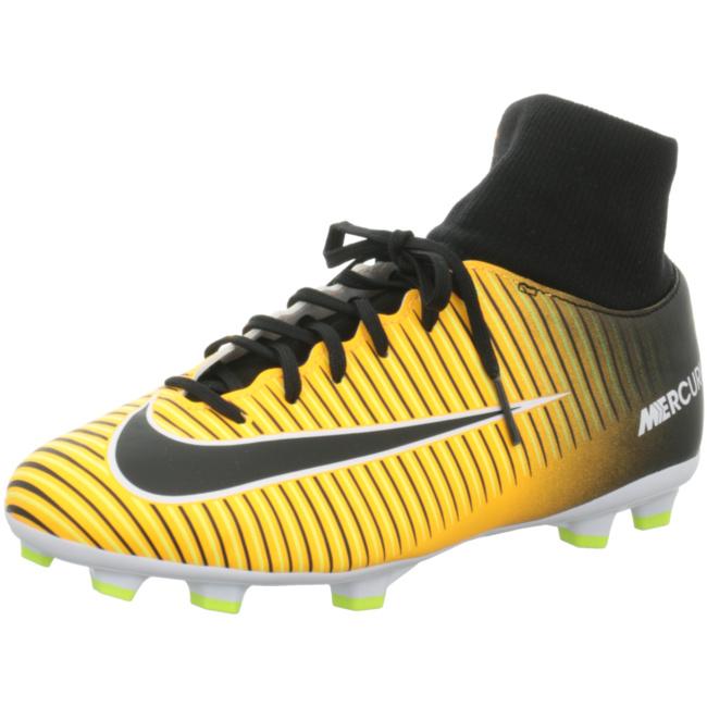 Nike Mercurial Victory VI Dynamic Fit FG Kinder Fußballschuhe Nocken orange Fußballschuh