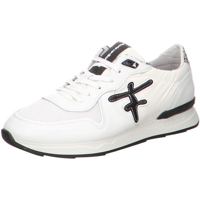 buy cheap new high quality best service Floris van Bommel Floris Sport White Textile Sneaker Low
