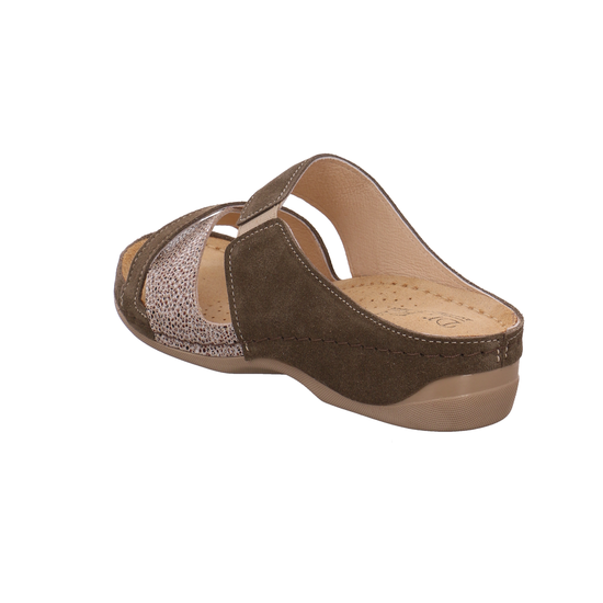 2372-2CARIBOU Komfort Pantoletten von Dr. Dr. Dr. Feet--Gutes Preis-Leistungs-, es lohnt sich 94a5d1