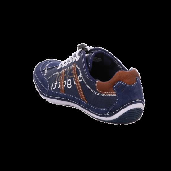 Herren Bugatti Canario Blau Schuhe BUGATTI Blau Über