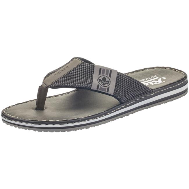 HERREN ZEHENTRENNER SLIPPER Sandale Antistress Rieker gr. 43