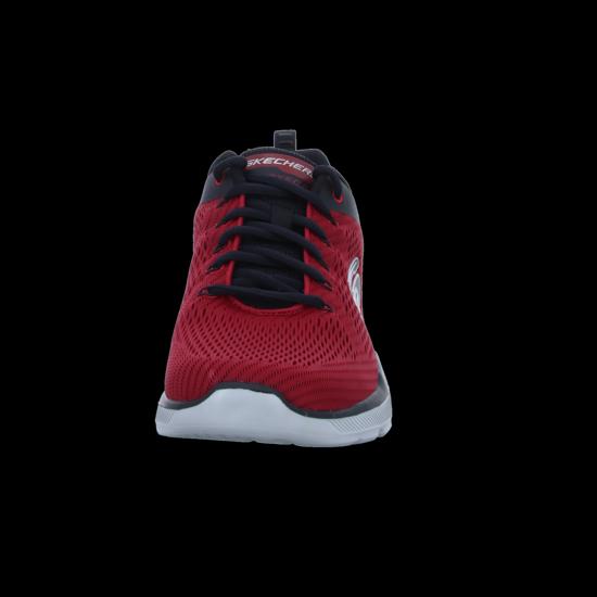 Skechers Herren Sneaker EQUALIZER 3.0 52927RDBK rot, Herren Größen:40, Farben:rot