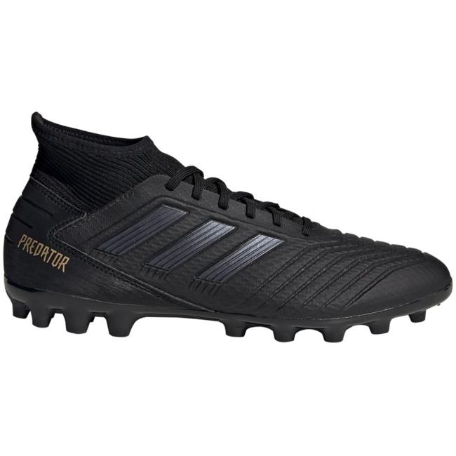 Fußballschuhe Schuhe PREDATOR 19.3 AG Adidas mit Socken 2019 Schwarzer Mann