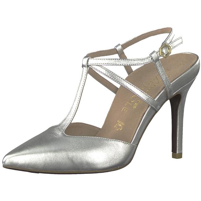 Tamaris Damen Pumps Silber, Schuhgröße:EUR 41: