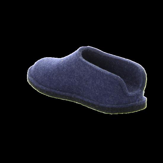 Haflinger Herren Hausschuh jeans Blau 311013-72