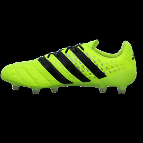 Perfekt Adidas S79684 Ace 16.1 FG Fußballschuh Herren gelb