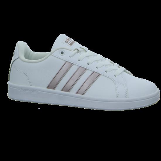adidas Advantage Damen Sneaker Weiß, Größenauswahl:37 13